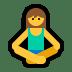 🧘 person in lotus position Emoji on Windows Platform