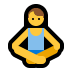 🧘‍♂️ man in lotus position Emoji on Windows Platform