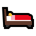 🛌 person in bed Emoji on Windows Platform