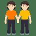 🧑🏻🤝🧑🏻 people holding hands: light skin tone Emoji on Windows Platform