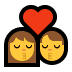 👩‍❤️‍💋‍👨 kiss: woman, man Emoji on Windows Platform