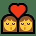 👩❤️💋👩 kiss: woman, woman Emoji on Windows Platform