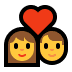 👩‍❤️‍👨 Woman And Man Couple With Heart Emoji on Windows Platform