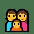 👪 family Emoji on Windows Platform