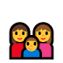👩‍👩‍👦 Family With Woman, Woman And Boy Emoji on Windows Platform