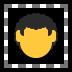 🦱 curly hair Emoji on Windows Platform