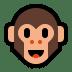 🐵 monkey face Emoji on Windows Platform