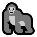 🦍 gorilla Emoji on Windows Platform