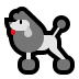 🐩 poodle Emoji on Windows Platform