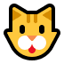 🐱 cat face Emoji on Windows Platform