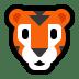 🐯 tiger face Emoji on Windows Platform