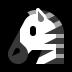 🦓 zebra Emoji on Windows Platform
