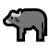 🐃 water buffalo Emoji on Windows Platform