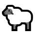 🐑 ewe Emoji on Windows Platform