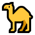 🐪 camel Emoji on Windows Platform