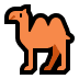 🐫 two-hump camel Emoji on Windows Platform