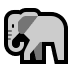 🐘 elephant Emoji on Windows Platform