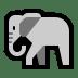 🐘 elephant Emoji on Windows Platform