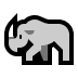 🦏 rhinoceros Emoji on Windows Platform