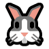 🐰 rabbit face Emoji on Windows Platform