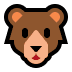 🐻 bear Emoji on Windows Platform