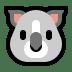 🐨 koala Emoji on Windows Platform