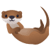 🦦 otter Emoji on Windows Platform