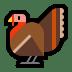 🦃 turkey Emoji on Windows Platform