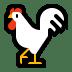 🐓 rooster Emoji on Windows Platform
