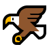 🦅 eagle Emoji on Windows Platform