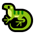 🦎 lizard Emoji on Windows Platform
