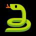 🐍 snake Emoji on Windows Platform