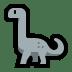 🦕 sauropod Emoji on Windows Platform