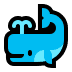 🐳 spouting whale Emoji on Windows Platform