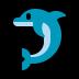 🐬 dolphin Emoji on Windows Platform