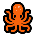 🐙 octopus Emoji on Windows Platform