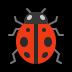 🐞 Lady Beetle Emoji on Windows Platform