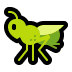 🦗 cricket Emoji on Windows Platform