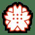 💮 white flower Emoji on Windows Platform