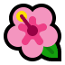 🌺 hibiscus Emoji on Windows Platform