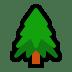 🌲 evergreen tree Emoji on Windows Platform