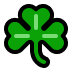 ☘️ shamrock Emoji on Windows Platform