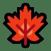 🍁 maple leaf Emoji on Windows Platform