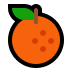 🍊 Tangerine Emoji on Windows Platform