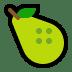 🍐 pear Emoji on Windows Platform