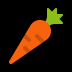 🥕 Carotte Emoji sur la plateforme Windows