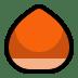 🌰 chestnut Emoji on Windows Platform