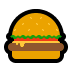 🍔 hamburger Emoji on Windows Platform