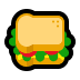 🥪 sandwich Emoji on Windows Platform