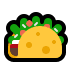 🌮 taco Emoji on Windows Platform